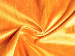 silk dupioni gold