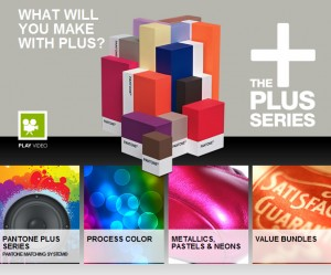 Pantone - The plus series