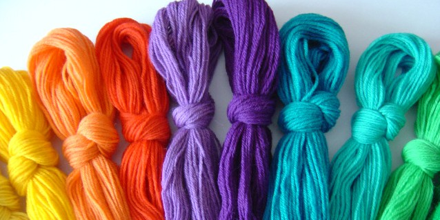 Colour Hanks Tapesrty Wool Use