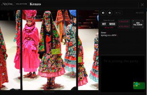 Kenzo Collction - Fabric Frenzy