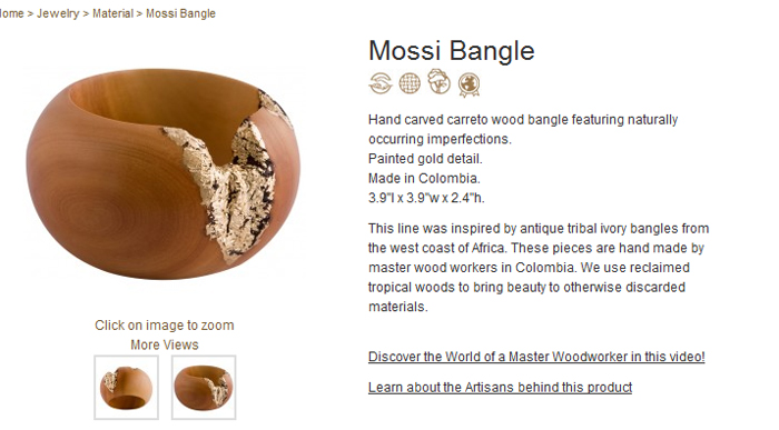SurEvolution bangle - Mossi Bangle