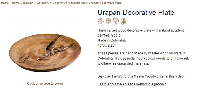 Urapan Decorative Plate