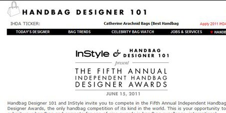 Handbag 101 Awards