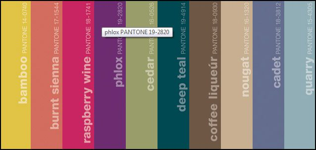 pantone colors men