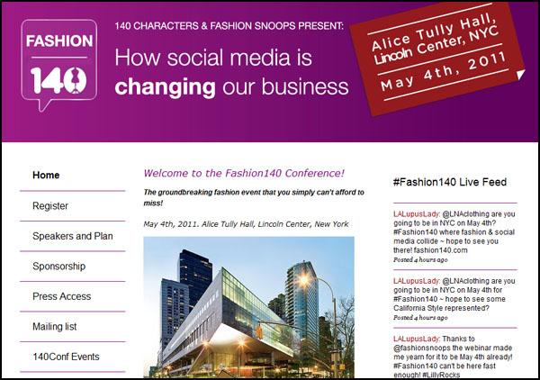 Fashion 140 Conference