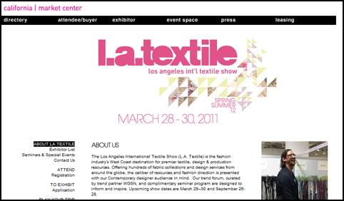 LA International Textile Show
