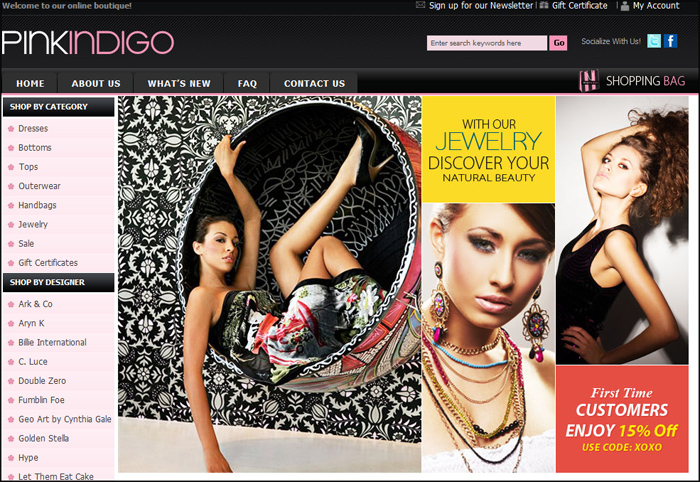 Pink Indigo Boutique