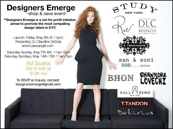 Designers Emerge Invitation