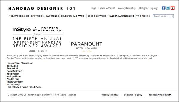 Independent Handbag Awards