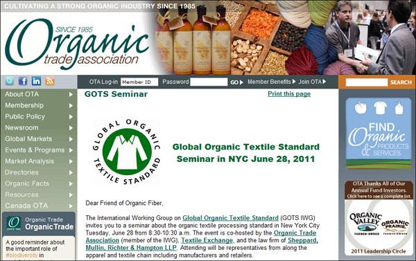 Organic Seminar