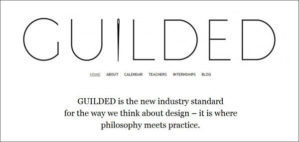 Guilded Sustainable Fashion Education
