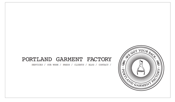 Portland Garment Factory