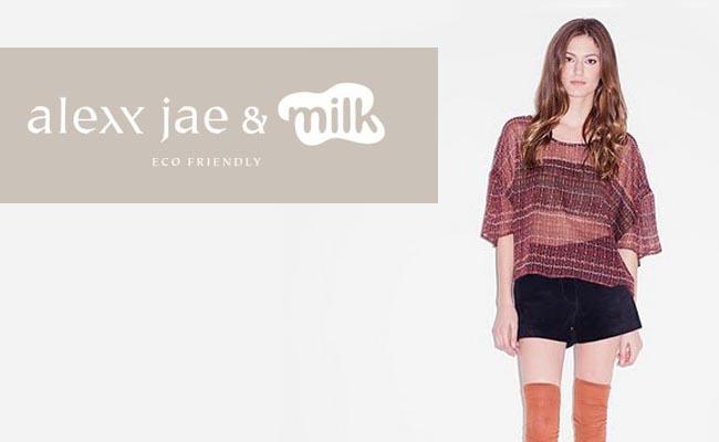 StartUp Fashion designer Alexx Jae Milk