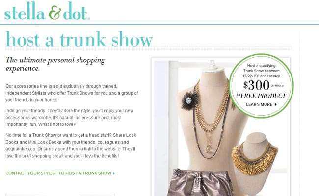 stella and dot - start up fashion business resource