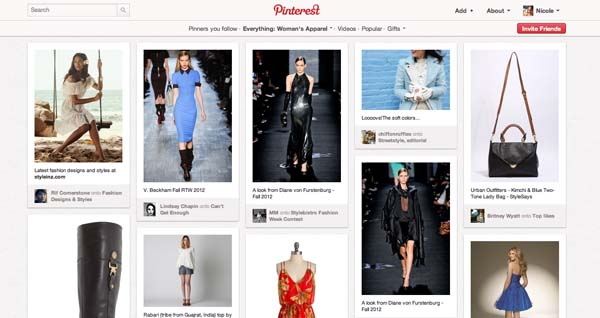 Pinterest Fashion Marketing Tool