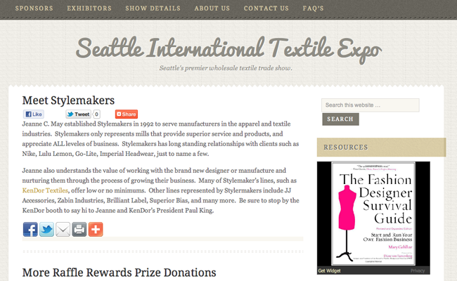 Seattle International Textile Expo