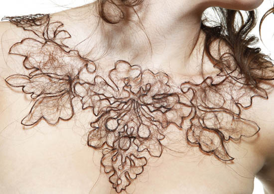 hair necklace - kerry howley - start up fashion business resource