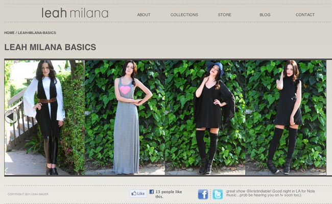 Leah Milana - Start Up Fashion business resource