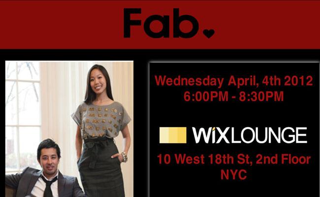 Fab.com Event