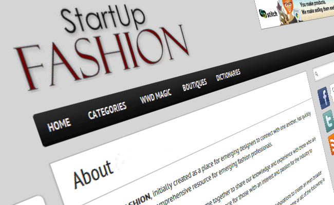 about start up fashion business resource