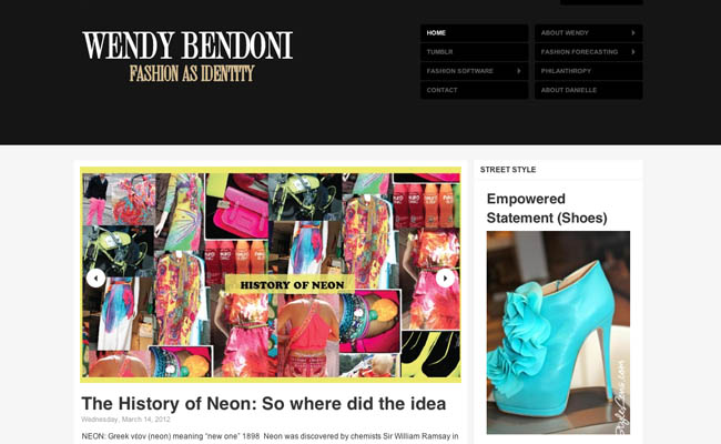 Fashion trend forecasting Wendy Bendoni