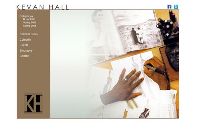 Designer Kevan Hall