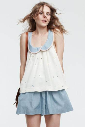 fashion designer Lauren Moffatt