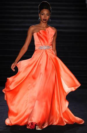 Designer Kevan Hall - Dress