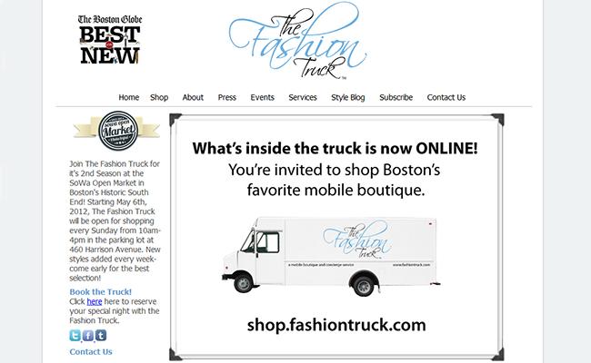 The Fashion Truck mobile Retail Boutique