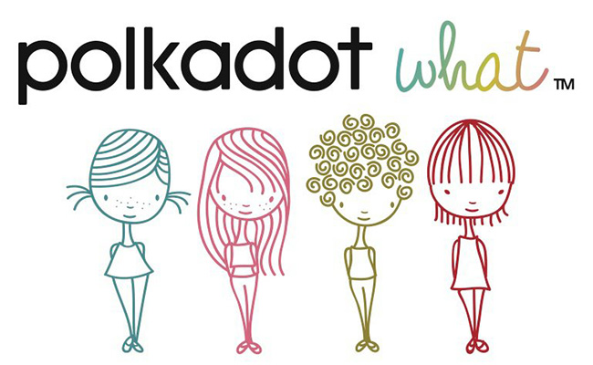 Kidswear label Polkadot What