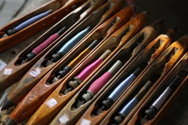 Indigo Handloom; Hand Woven Textiles