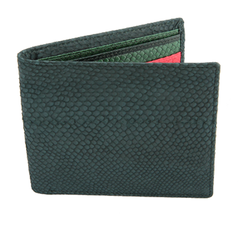 Salmon Fish Leather Wallet