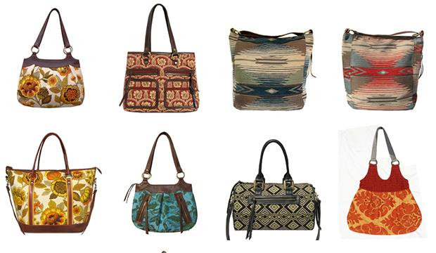 Kim White Handbags