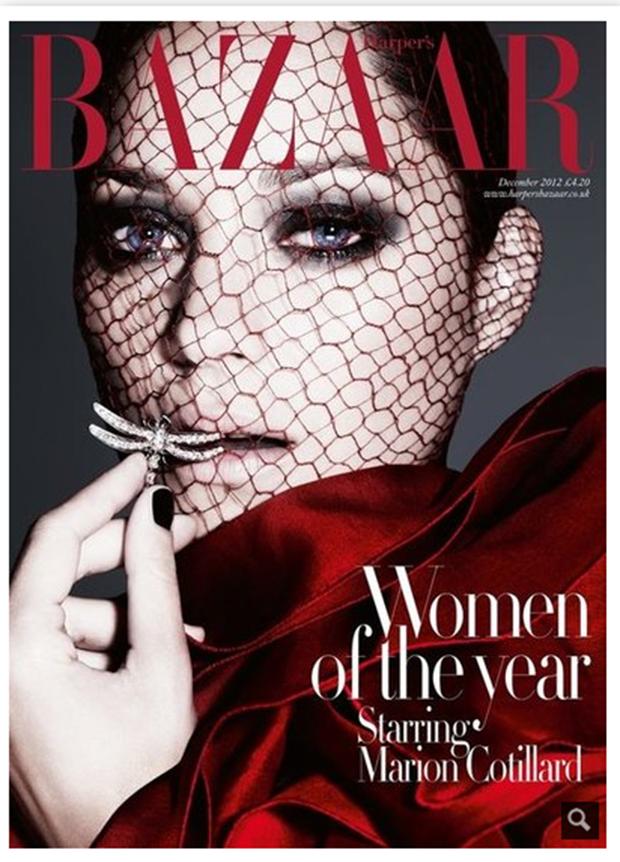 December Fashion magazine covers