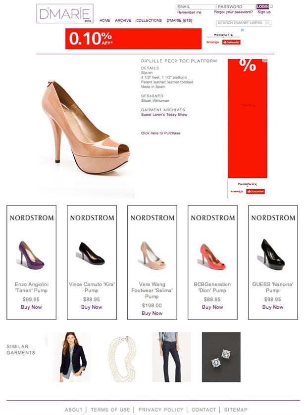 Garment Page- D'Marie