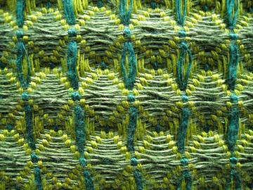 stolzl honeycomb weave