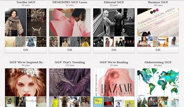 StartUp FASHION Pinterest