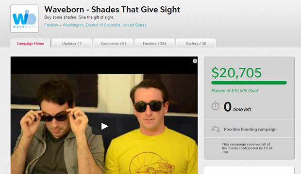 Waveborn crowdfunding campaign