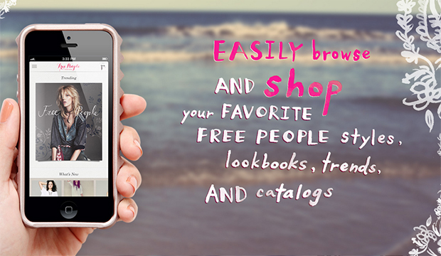 free people mobile app