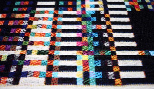 Glitch Textiles Fabric