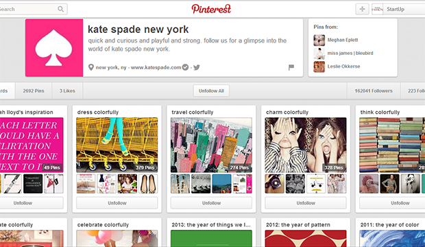 How to use pinterest to grow your fashion brand