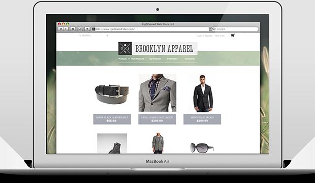 LightSpeed Webstore
