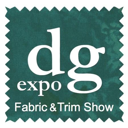 DG Expo Fabric Sourcing Trade Show Logo