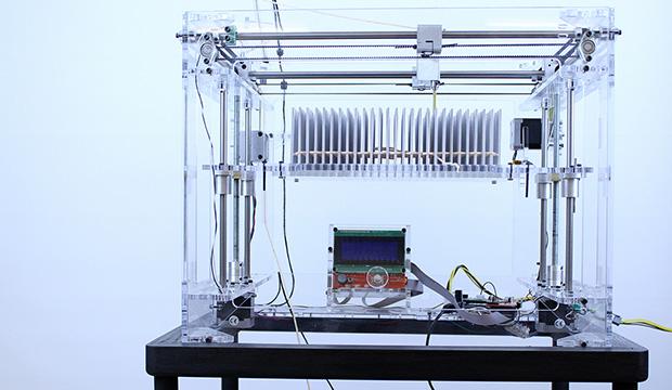 3D printed fabric machine