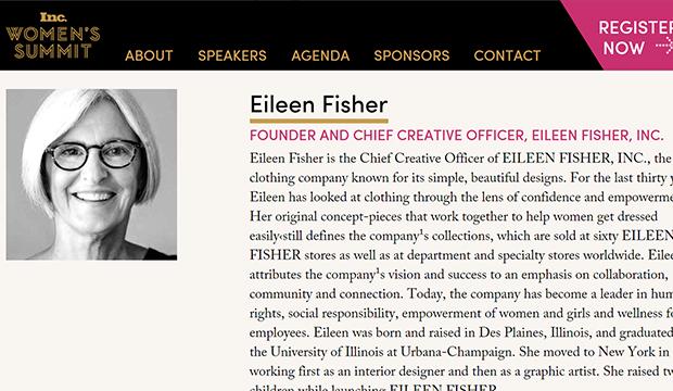 Eileen Fisher Inc Womens Summit