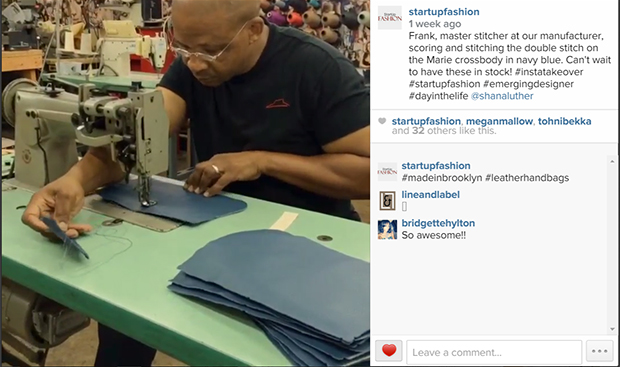 Shana Luther Handbag Manufacturing