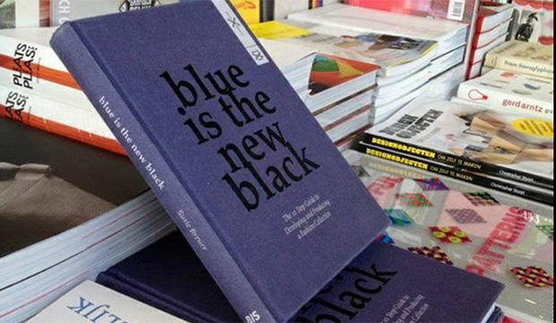 Blue is the new black book