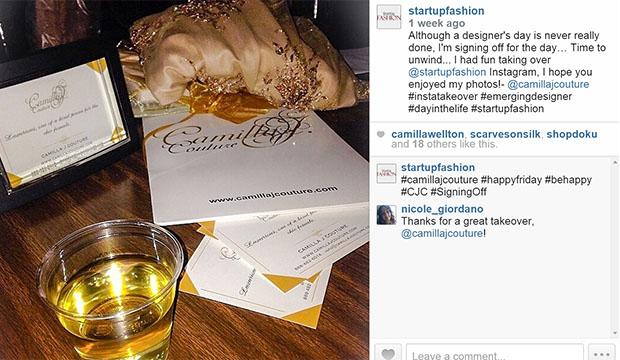 Camilla J Couture instagram