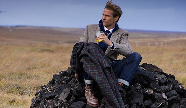 Whiskey Scented Harris Tweed