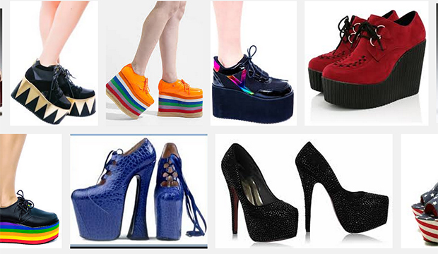 fashion archives platform shoes